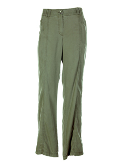 apriori pantacourts et decontractes femme de couleur vert (photo)