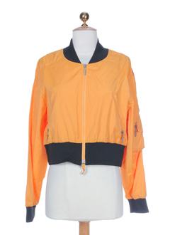 airfield blousons femme de couleur orange (photo)