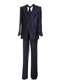 carlo et pignatelli pantalon et veste homme de couleur bleu (photo)