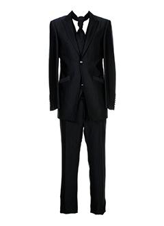 carlo et pignatelli pantalon et veste homme de couleur noir (photo)