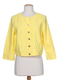 concept et k blousons femme de couleur jaune (photo)