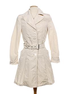 creenstone impermeables et trenchs femme de couleur beige (photo)
