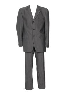 ecce pantalon et veste homme de couleur gris (photo)
