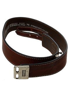 closed ceintures femme de couleur marron