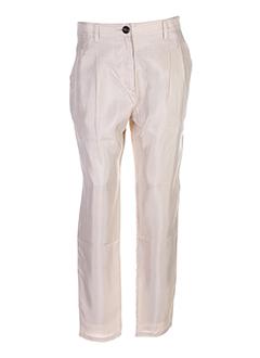 samsoe et samsoe pantalons et decontractes femme de couleur beige