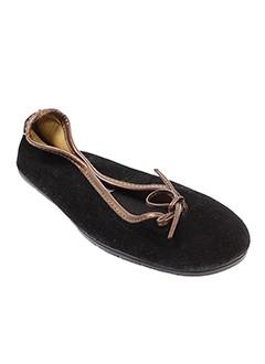 wapiti ballerines femme de couleur noir