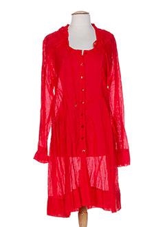 3322 tuniques femme de couleur rouge (photo)