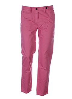 aigle pantalons et decontractes femme de couleur rose