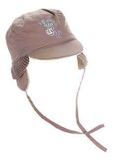 3 et pommes chapeaux et bonnets garcon de couleur beige (photo)