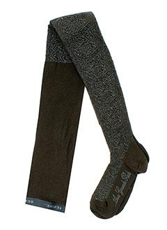 berthe et aux et grands et pieds bas et collants femme de couleur marron