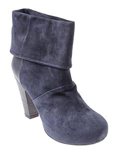 vic bottines femme de couleur bleu