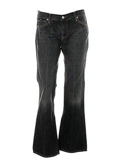 acquaverde jeans et coupe et large femme de couleur gris (photo)